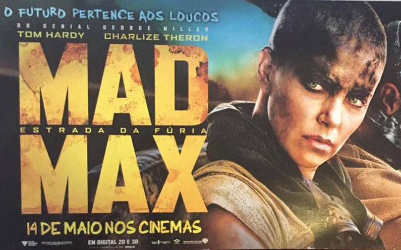 "Saga ""Mad Max"" de volta aos cinemas"