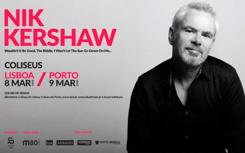 Nik Kershaw @ Coliseu do Porto   Porto   Porto   Portugal