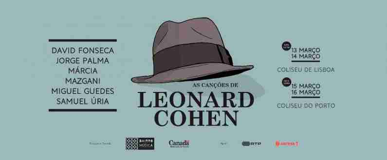 As Canções de Leonard Cohen @ Coliseu do Porto | Porto | Porto | Portugal